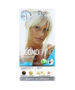 Depend Blondering för Morkblondt-ljusblont Hår