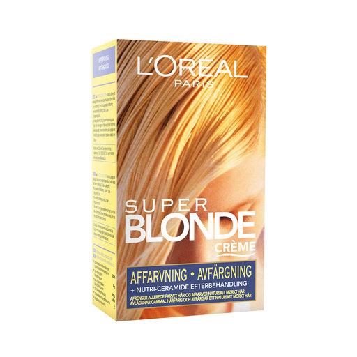 Loreal Paris Super Blonde Creme Avfargning