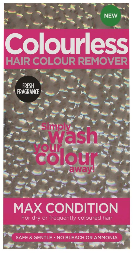 Colourless Hair Colour Remover